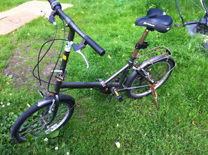 Folding Bike That Needs TLC mostly cosmetic