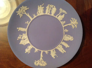 Two Wedgwood jasperwear cake plates like new condition