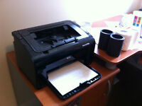 Imprimante HP Laser Jet P1102w    NEW HP Printer...wireless