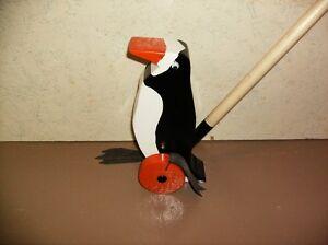 pingouin sur roue 25.00$