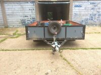 Plant,car all round twin wheel trailer