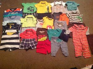Size 3 month summer wardrobe for baby boy
