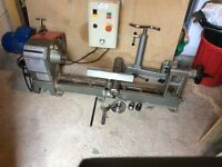 Nova woodturning lathe ( bench fit )