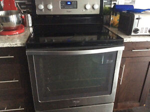 3 yr old Whirlpool Range for sale, needs part replaced.