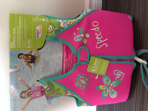 Pink swim vest speedo (new with tags!)