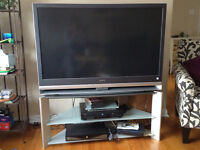 Free tv for sale!  Stand included.