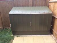 Metal garden shed - Trimetals storeguard 6ft X 3ft