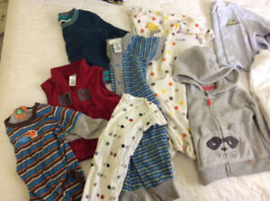 Sold PPU ...9 month baby boy clothes