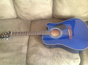 LIKE NEW GREG BENNETT ACOUSTIC ELECTRIC GUITAR