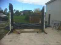 USED 2 Post Hoists (Hydra-Lift) (Malcan)