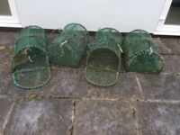 Lobster pots, 4 available.