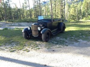 28 FORD MODEL A ROADSTER PICK UP