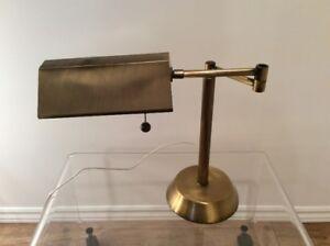 Lampe en Laiton Retro-Vintage Brass Table Lamp