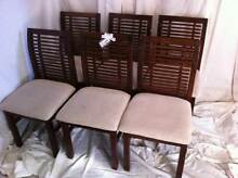 Set of 6 Dining Chairs #2506 North Geelong Geelong City Preview