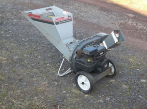 Wood Chipper/Shredder – 1991 Craftsman Sears 5HP Chipper Parts