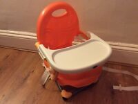 Chicco travel high chair