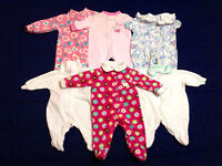 Baby girl clothes 87 items...