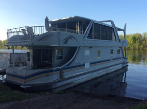 54' two story custom built Houseboat