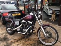 Delivery Available Harley Davidson FXDWG Dyna Wide Glide 1340cc 1996