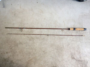 Vintage Cork Handle Fishing Rod