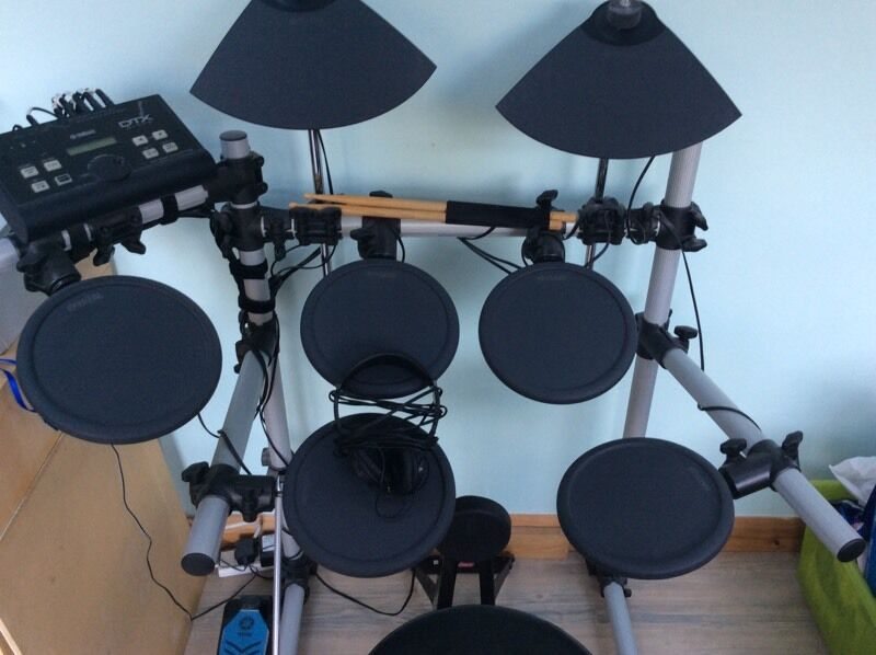 yamaha dtx. yamaha dtx 500k electronic drum kit for sale price reduced dtx )