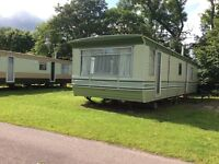 Static caravan to let in Brodie Forres Morayshire on main bus route