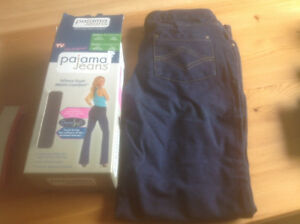 PAJAMA JEANS AS SEEN ON TV- WOMEN 'S SIZE MEDIUM- NEW IN BOX