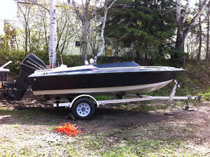 16' Bowrider with 90hp 2 Stroke Outboard