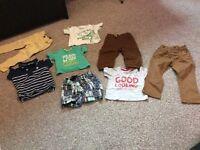 Boys clothing bundle 12-18 months 8 items
