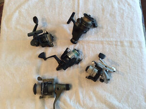 Assorted Fishing Reels and Rods