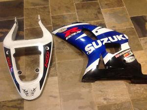 Suzuki GSXR 750 parts frame and motor 2003 and 1998