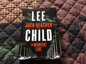 THE MIDNIGHT LINE BY LEE CHILD BOOK