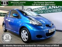 Toyota AYGO 1.0VVT-I BLUE [20 ROAD TAX and HIGH MPG]