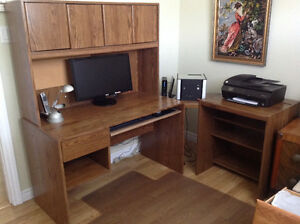 4 piece Computer Desk / Workstation