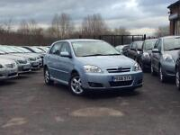 2006 Toyota Corolla 1.4 VVT-i Colour Collection Blue 5-door hatchback