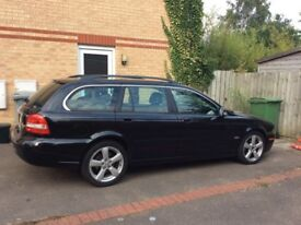 AUTOMATIC Jaguar X-Type SE Estate 2.2 Diesel 2008 FSH