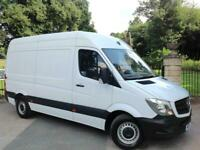 2016 Mercedes-Benz Sprinter 2.1CDI 313 MWB / HIGH ROOF / ONE OWNER FROM NEW