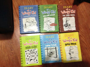 Diary of a Wimpy Kid books for sale
