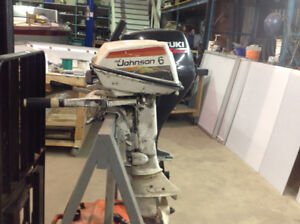 Johnson 5 and 6 hp outboard motors for sale