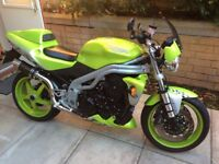 Triumph 955 Speed Triple Anniversary Edition ! 2003