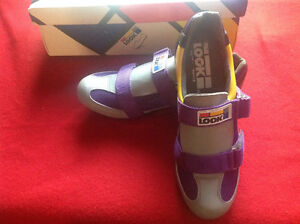 Brand new LOOK cycling shoes size 6*8 And Keo cleats..