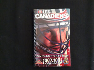 1992-93 Montreal Canadiens yearbook