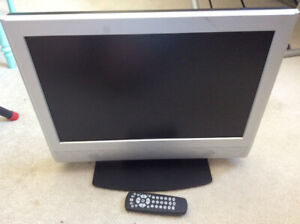 19 Inch LCD TV with Remote (Works Great)