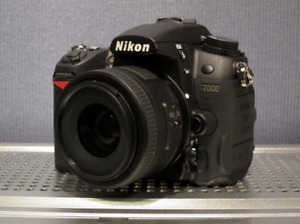 Nikon D7000 Package w/ 35mm 1.8 & 18-105 kit