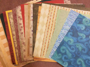 "100's of 12x12"" scrapbooking papers"