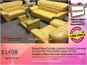 ◆BLACK FRIDAY WEEK! Brand New 2PCs CORDUROY Sectional@NEWD Edmonton Edmonton Area image 7