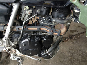 KAWASAKI KLR 250 ENGINE ONLY (complete)FOR SALE