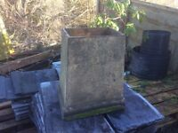 CHIMNEY POT, OLD BUFF COLOUR, EXCELLENT CONDITION, SIZES IN PHOTOS