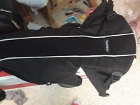 Baby bjorn baby carrier black and sports back