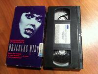 Dracula's Widow VHS (1988) Horror Sylvia Kristel Emmanuelle x